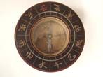 click to view detailed description of A rare Japanese Mariners Compass presented to the American Geographical Society in 1869